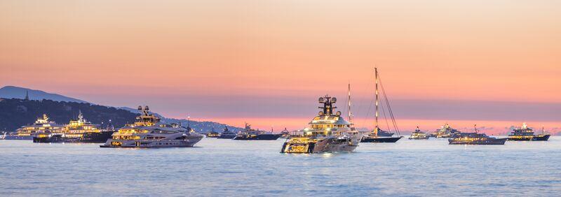 Yachts at Monaco Yacht Show 2021