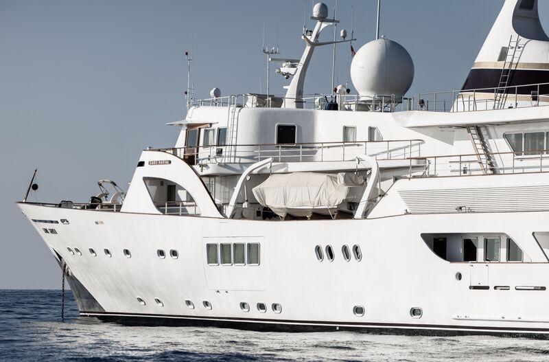 Lady Sarya yacht in Monaco