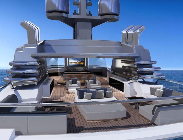 Superyacht concept Screen