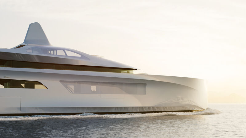 Feadship Future Concept yacht Pure