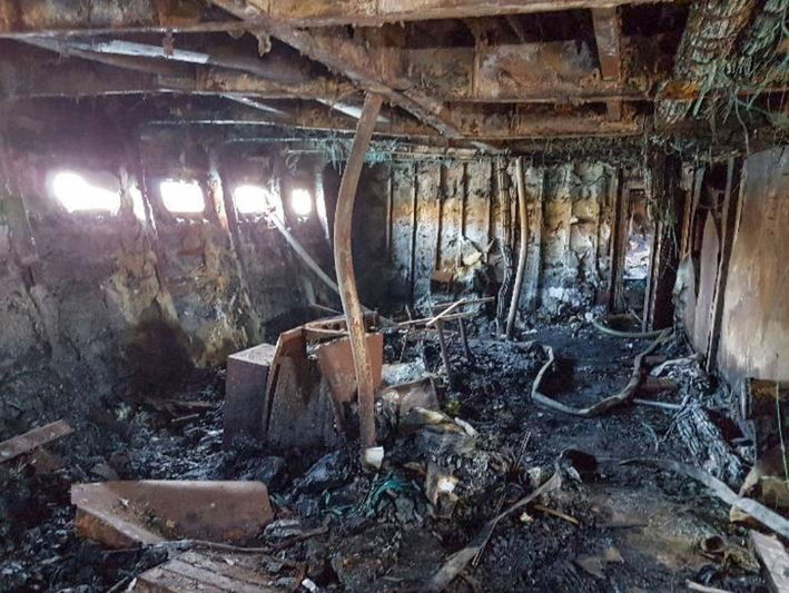 The One's condition following fire in Turkey