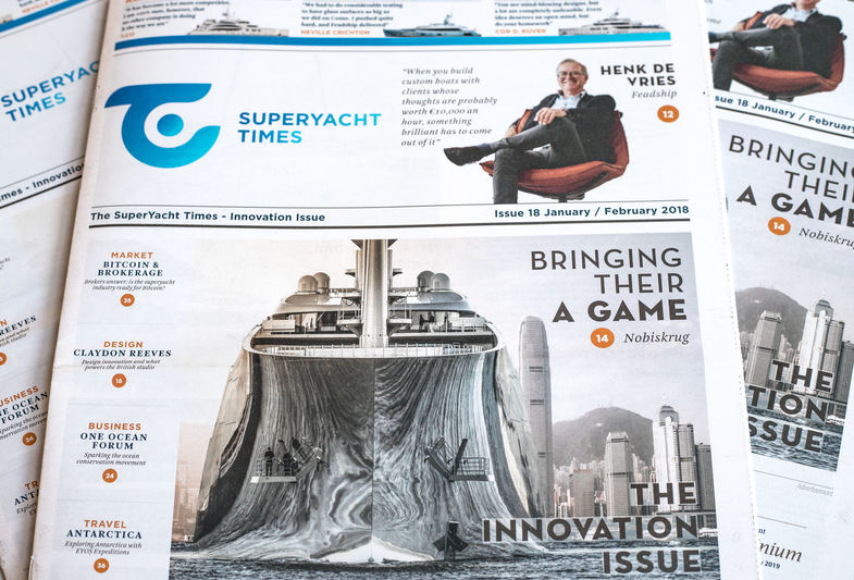 SuperYacht Times newspaper issue XVIII