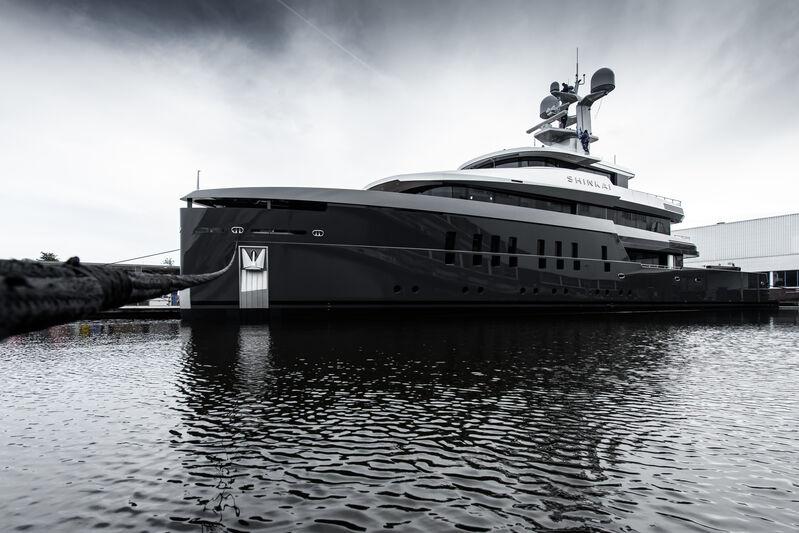 Shinkai yacht launch