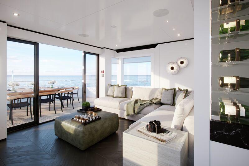 Project Fox yacht render