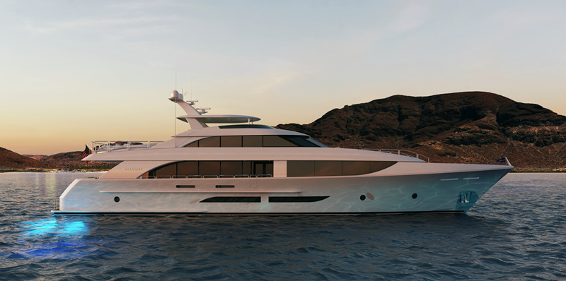 CASTLEFINN yacht Westport