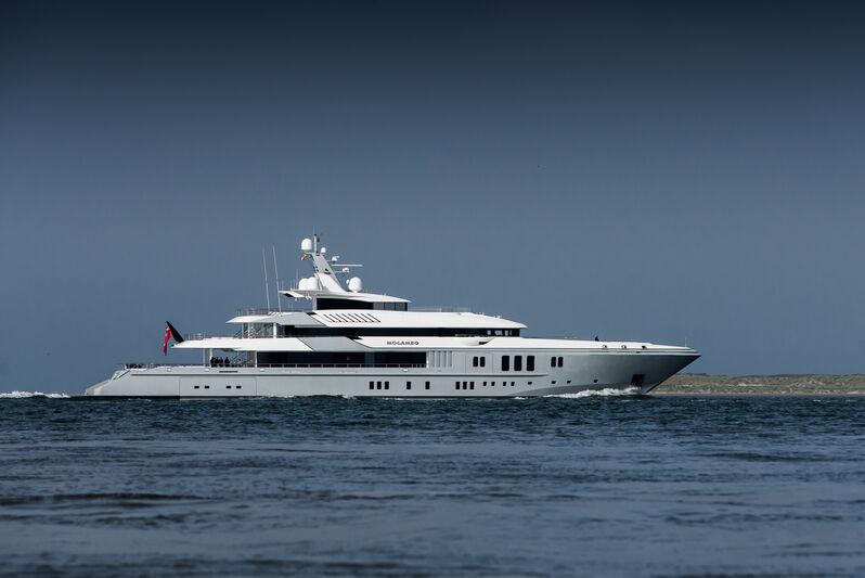 Mogambo yacht in Den Helder
