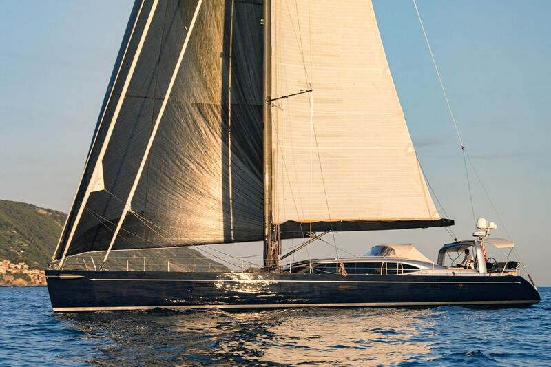 Ivanka yacht sailing