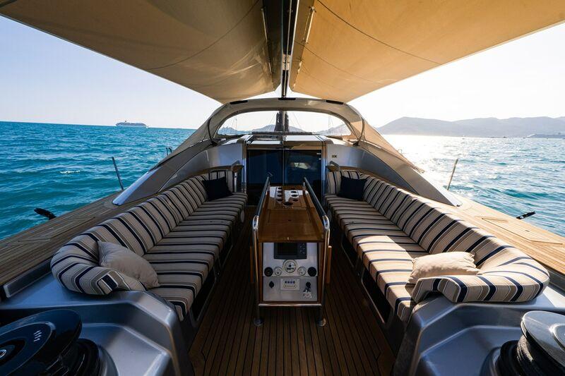 Ivanka yacht deck