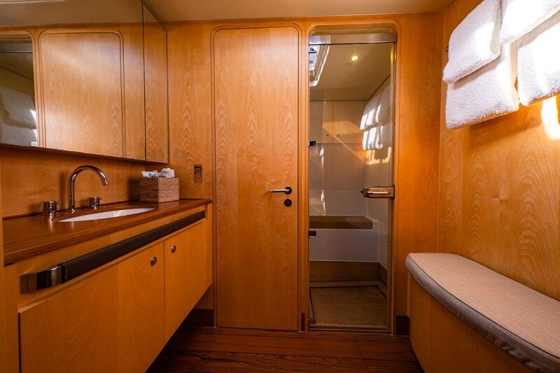 Ivanka yacht bathroom