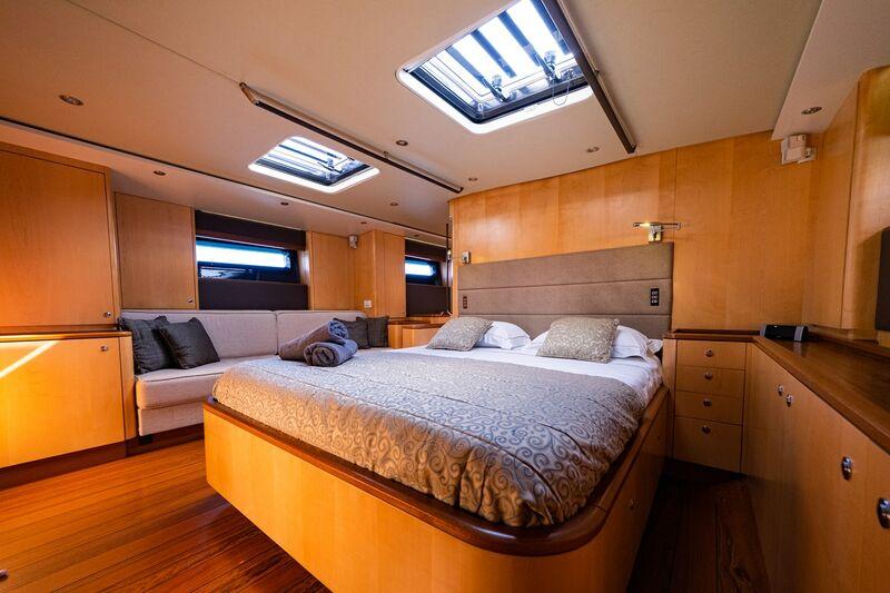 Ivanka yacht stateroom