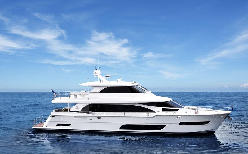 Valiant yacht cruising