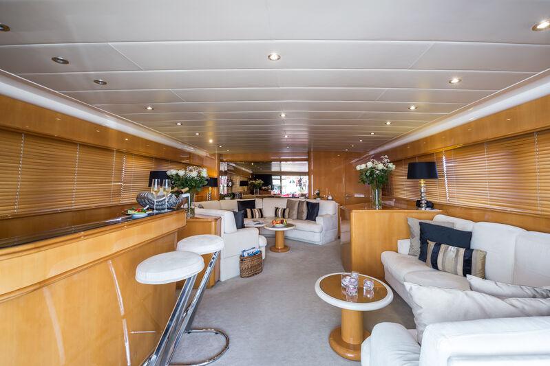Indulgence of Poole yacht saloon