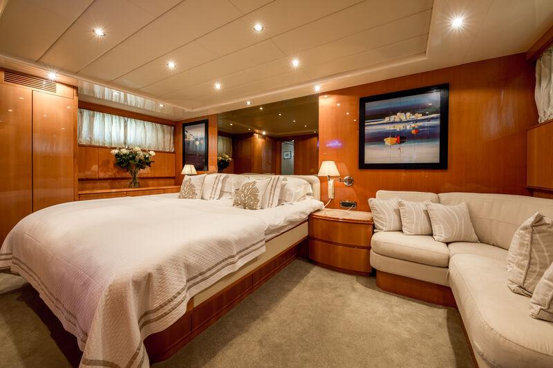 Indulgence of Poole yacht owner stateroom