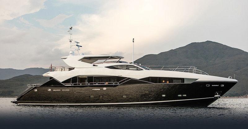 OKSANCHIK yacht Sunseeker