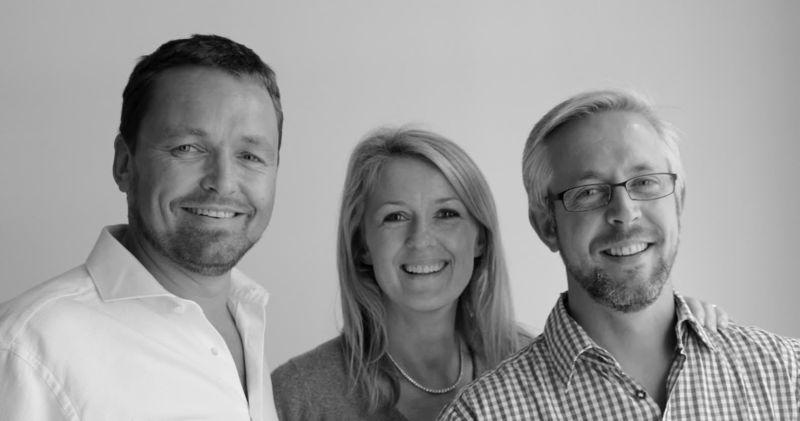 Harrison Eidsgaard Designers Peder and Ewa Eidsgaard with Ben Harrison