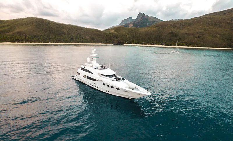 42m custom Gulf Craft De Lisle III in Fiji