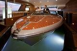 J'Ade floating tender garage