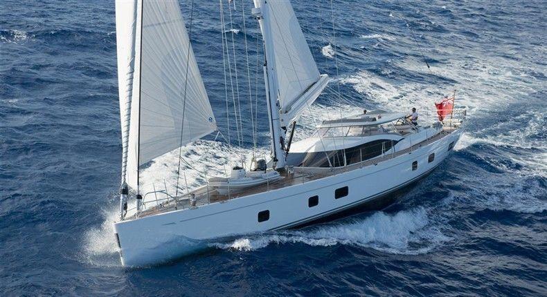 SERAFIM yacht Oyster