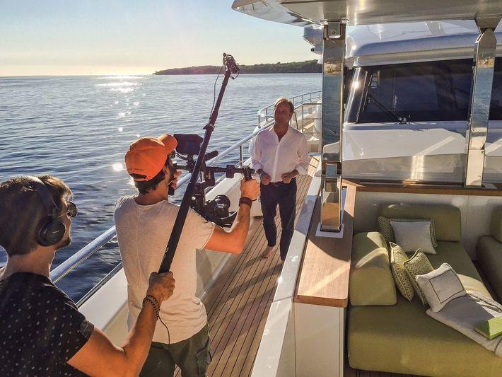 David Seal filming
