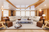 Amore Mio II upper deck saloon