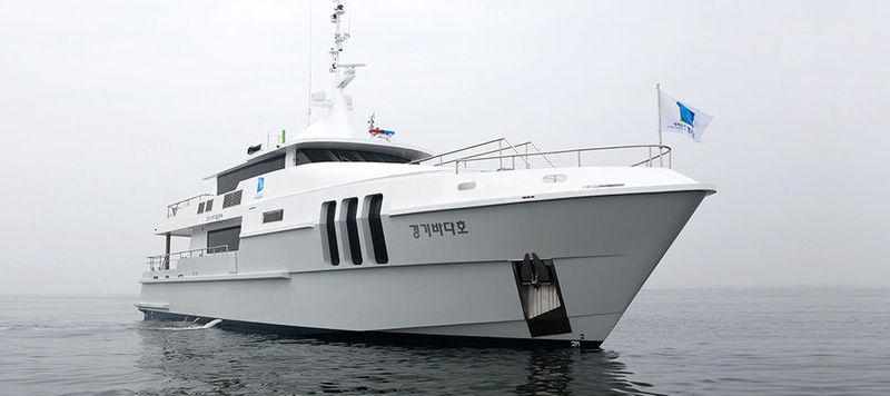 GYEONGGI BADAHO yacht Hyundai