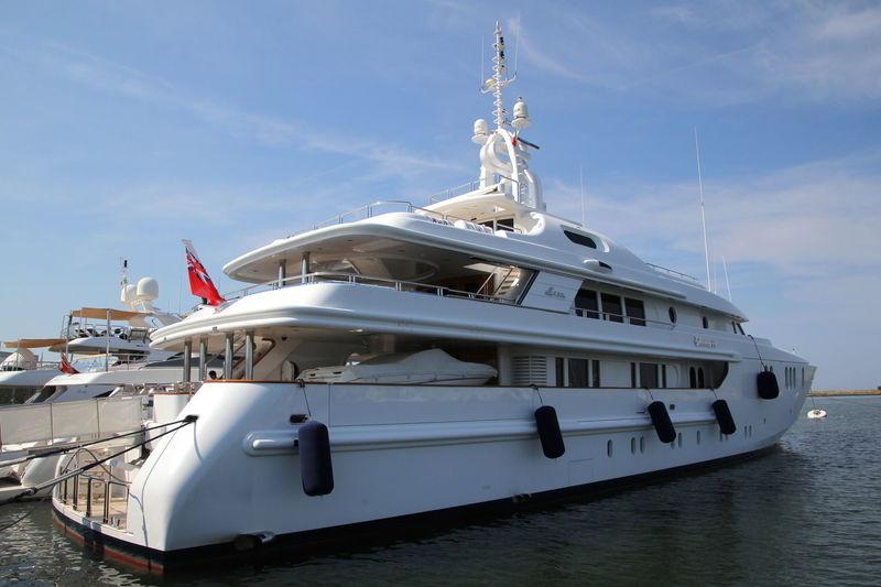 SAHAB IV yacht CRN
