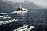 St David cruising off Monaco