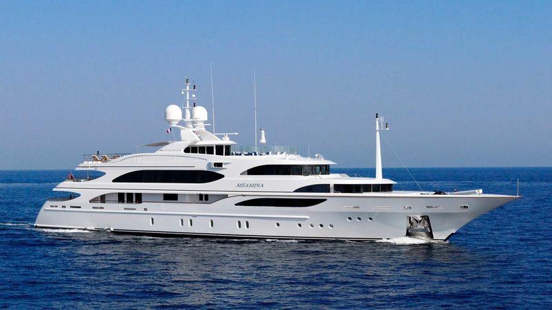 MEAMINA yacht Benetti