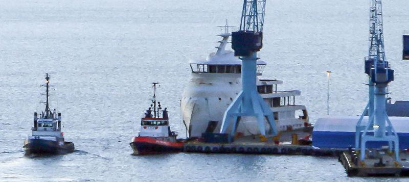 Ulstein 307 arrives in Ulsteinvik