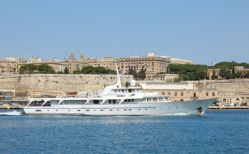 Thea leaving Malta