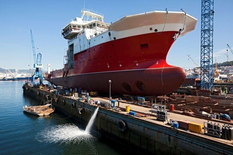 Volstad Surveyor under construction at Freire Shipyard