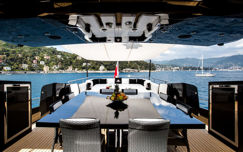 Ability by Baglietto aft deck