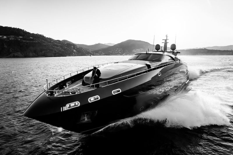 Ability by Baglietto cruising at full speed