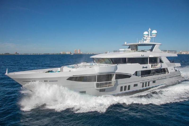 SERENITY yacht IAG