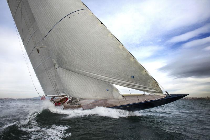 J Class Endeavour under sail