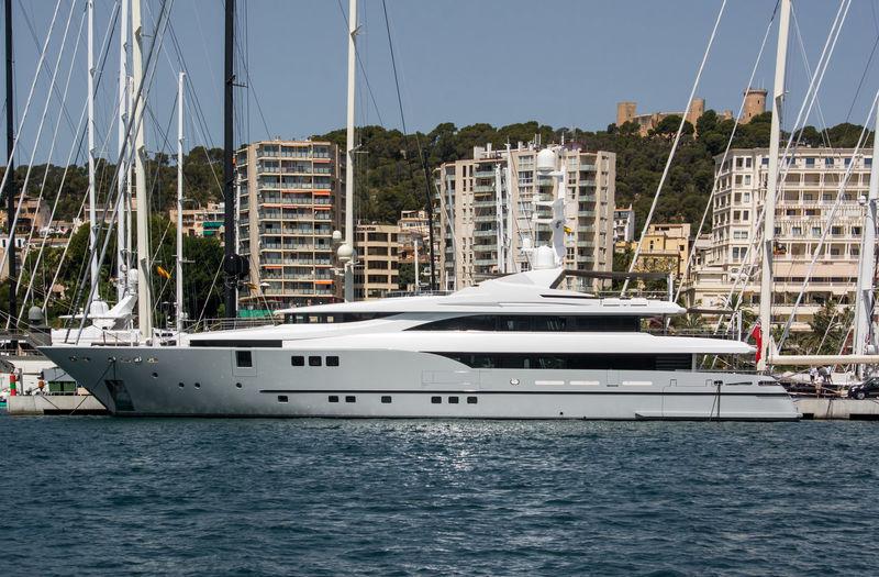 Rahil moored in Palma de Mallorca