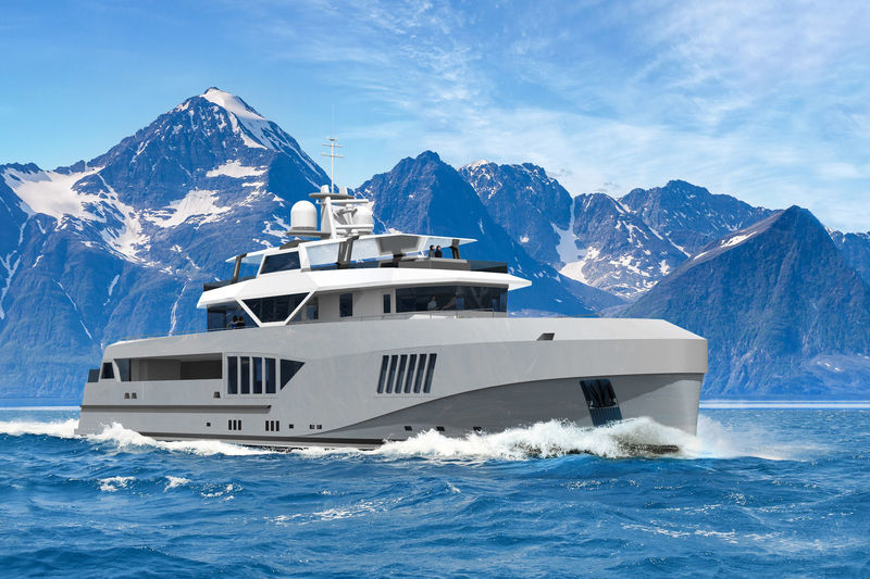 Hawk Yachts Cape Hawk 690 concept