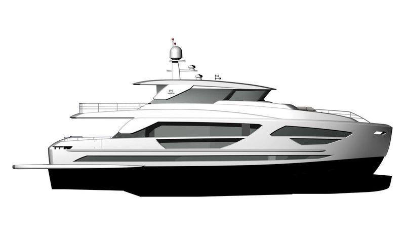 BELLA TU yacht Horizon