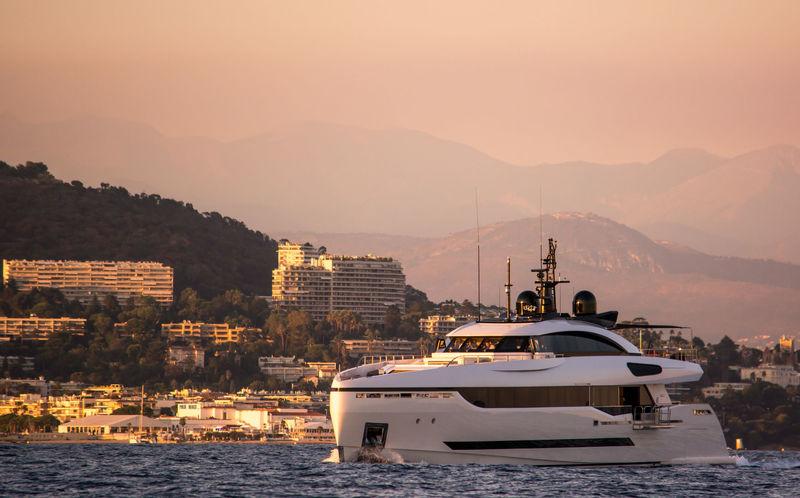Divine cruising off Cannes
