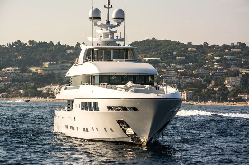 Okko anchored off Cannes