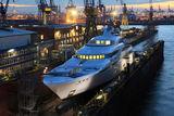 Graceful Yacht Blohm & Voss