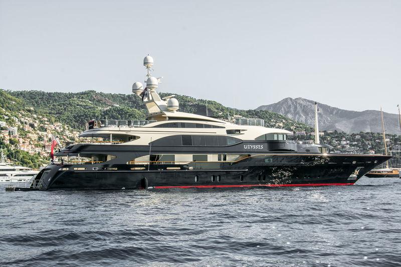Ulysses anchored off Monaco