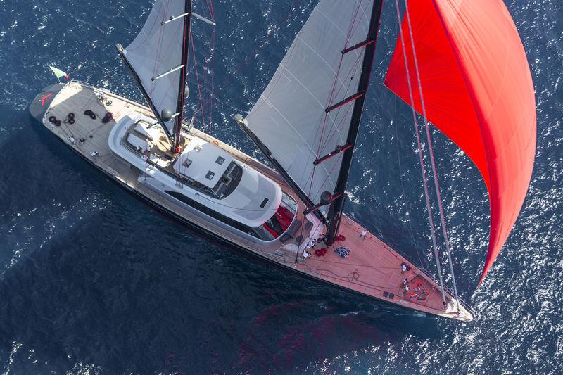 Seahawk sailing