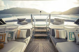 Kismet private owner's deck
