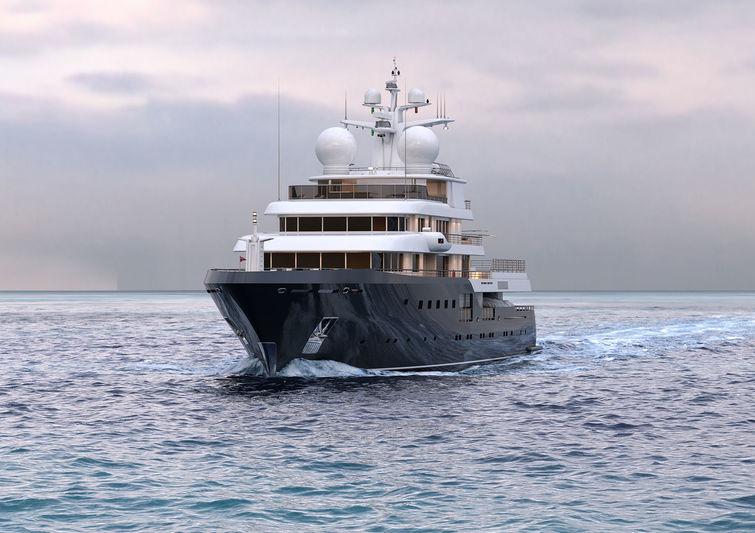 Admiral Project 575 Antarctica rendering