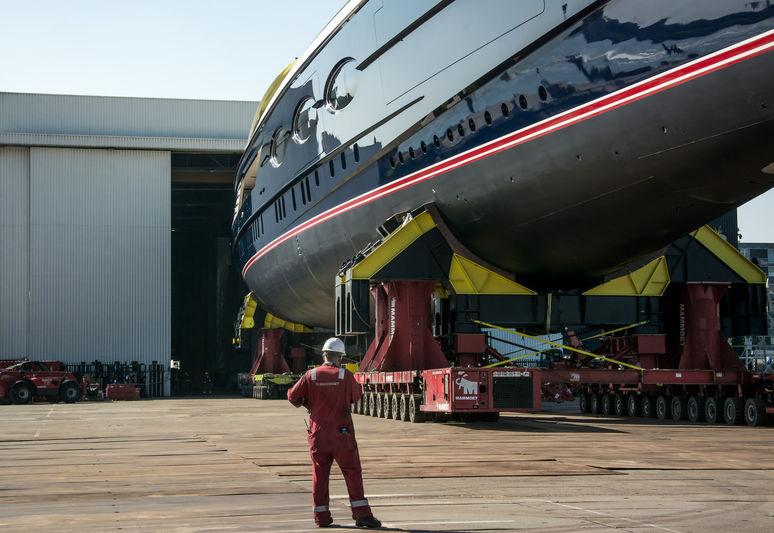 Black Pearl Launch at Oceanco