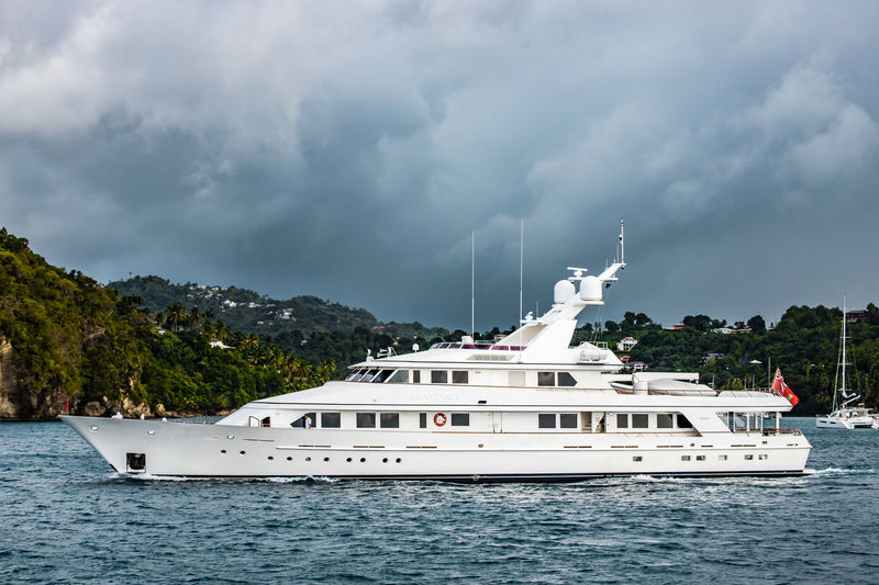 Constance in Marigot Bay St Lucia