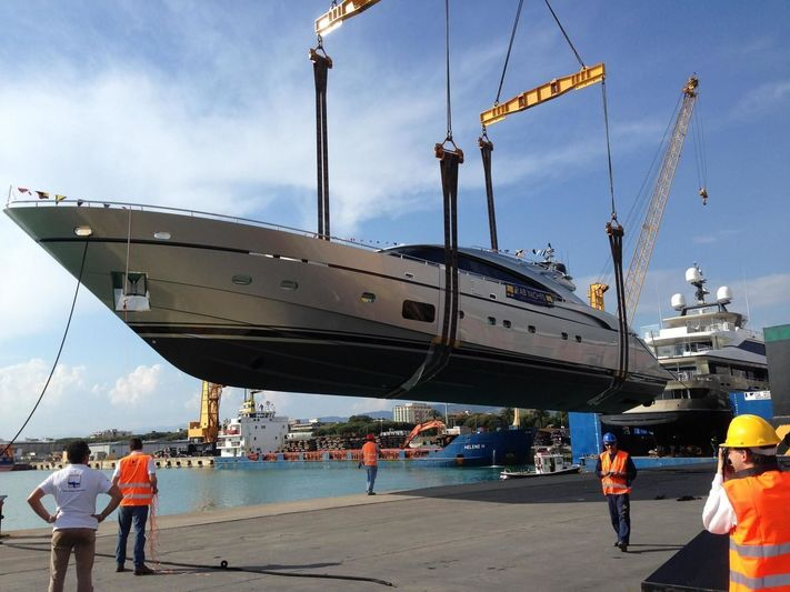 Swift launch at AB Yachts