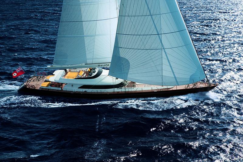 Helios sailing