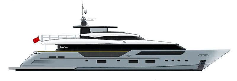 Heysea Asteria 126 profile rendering